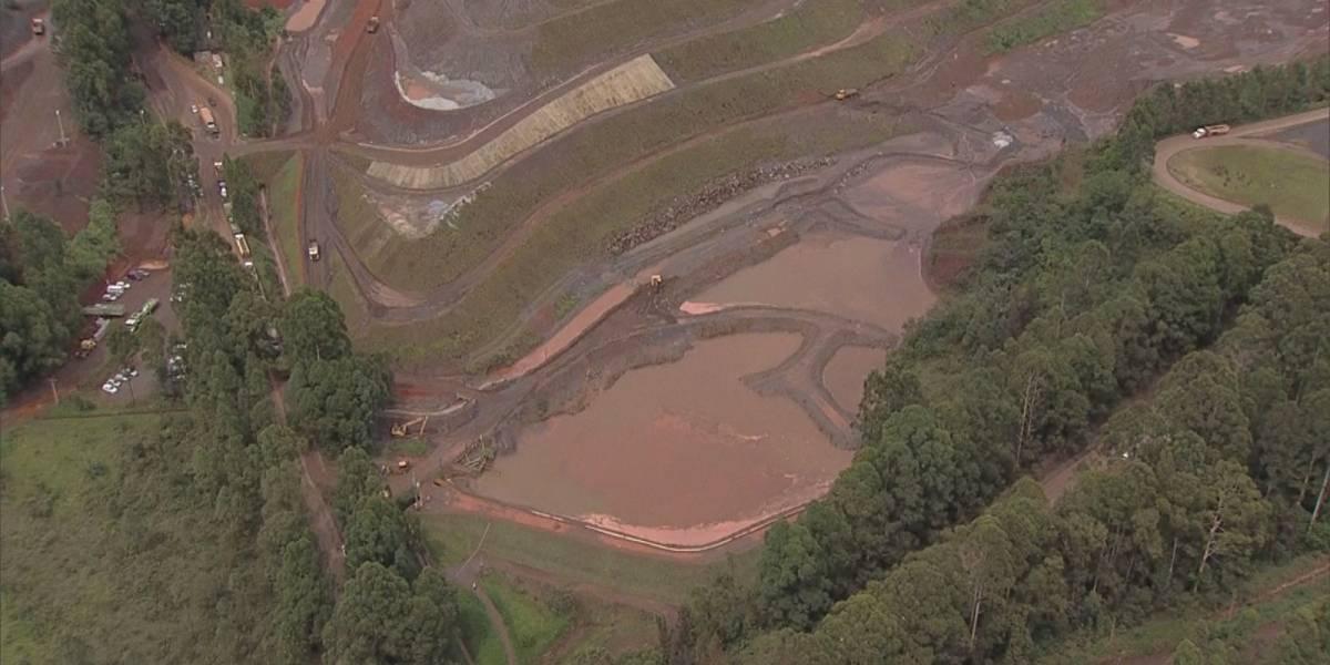 Barragem passa por avaliação após transbordar em Minas Gerais