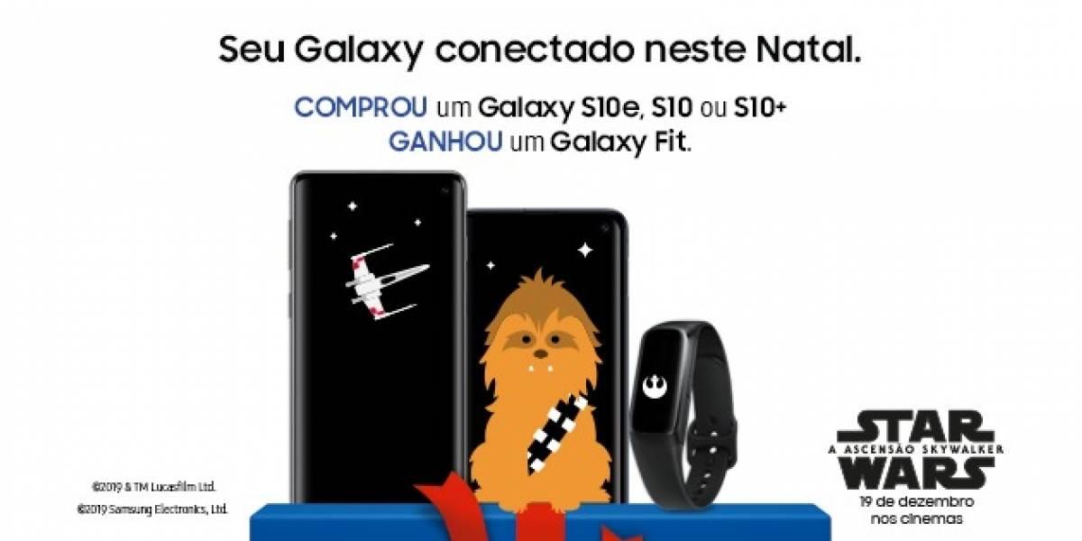 Tecnologia: Samsung anuncia ação de Natal com Galaxy S10