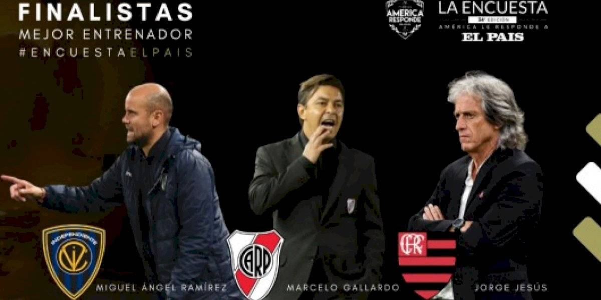 Miguel Ángel Ramírez es la gran sorpresa y competirá con Jorge Jesus y Marcelo Gallardo por ser el mejor entrenador de América