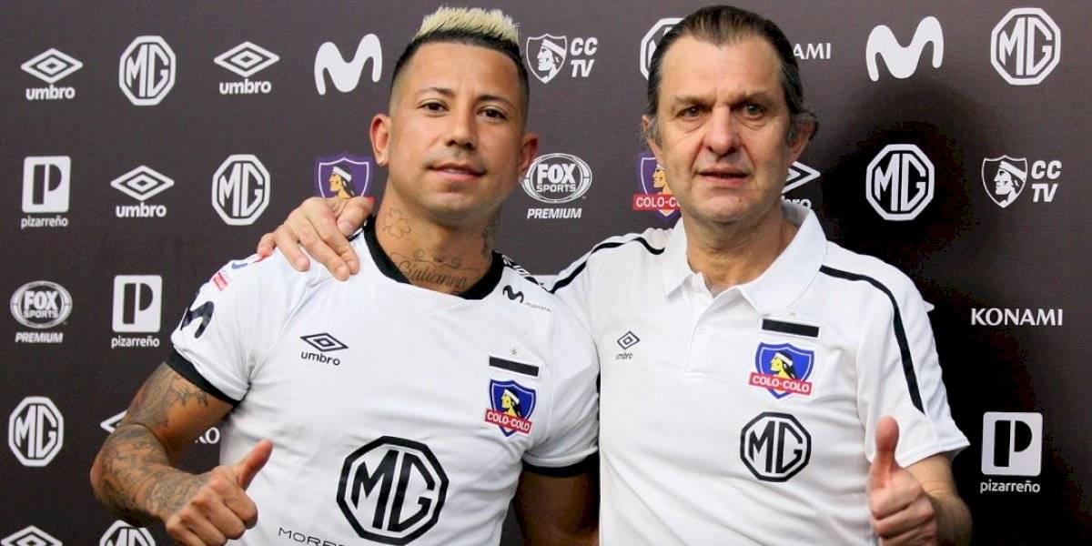 """Leonardo Valencia y su llegada a Colo Colo: """"No vengo a reemplazar a Valdivia"""""""
