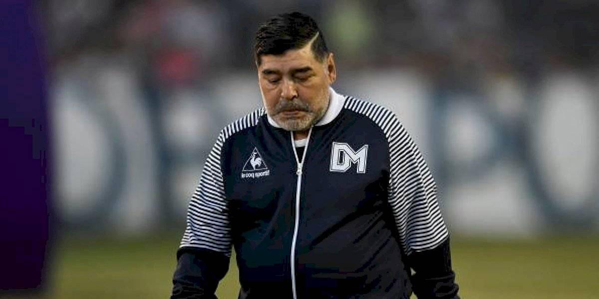 """Maradona señaló que fue """"raptado"""" por ovnis"""
