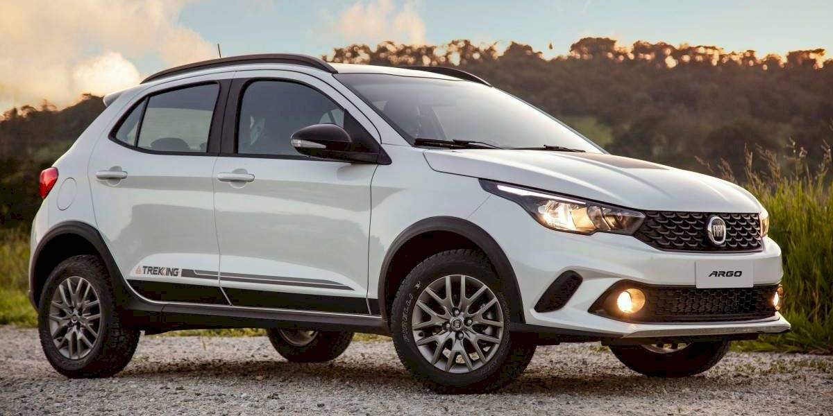 Fiat expande su Argo con el crossover Trekking