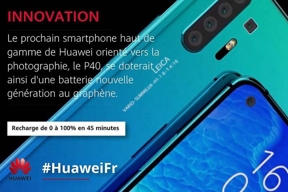 El misterio del Huawei P40 Pro y su batería de grafeno