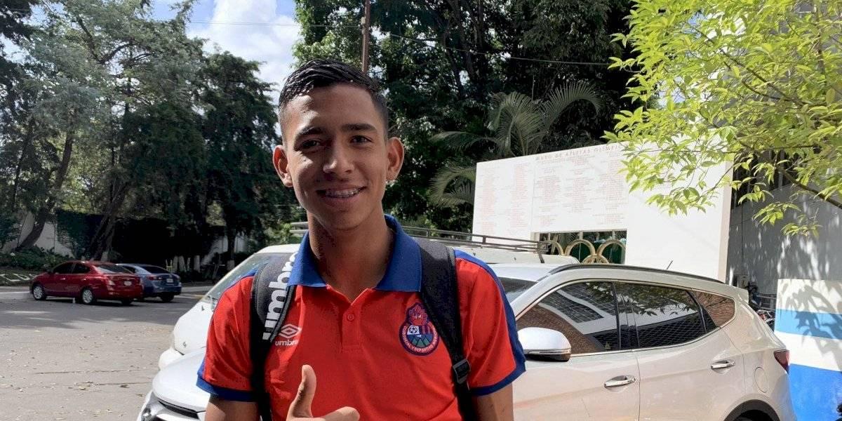Kenderson Navarro será el guardameta titular en el partido de ida contra Antigua