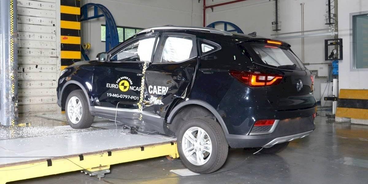 El MG ZS EV saca cinco estrellas y se luce en las pruebas de Euro NCAP