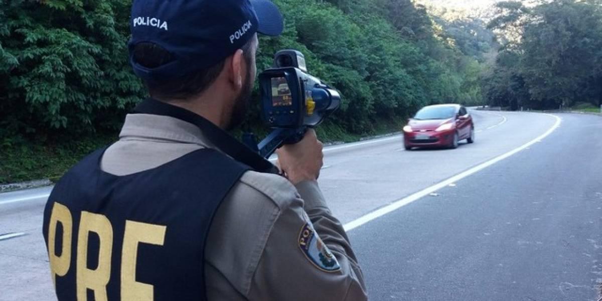 Fiscalização com radares móveis é retomada pela polícia nesta segunda