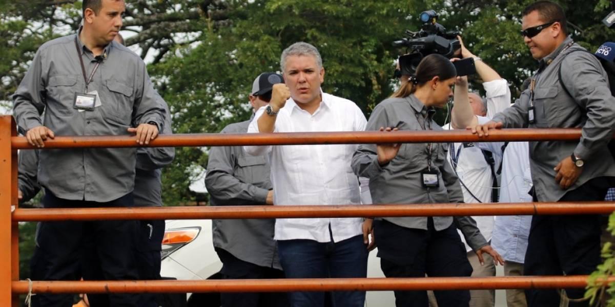 Venezuela acusa al presidente de Colombia de patrocinar asalto a destacamento