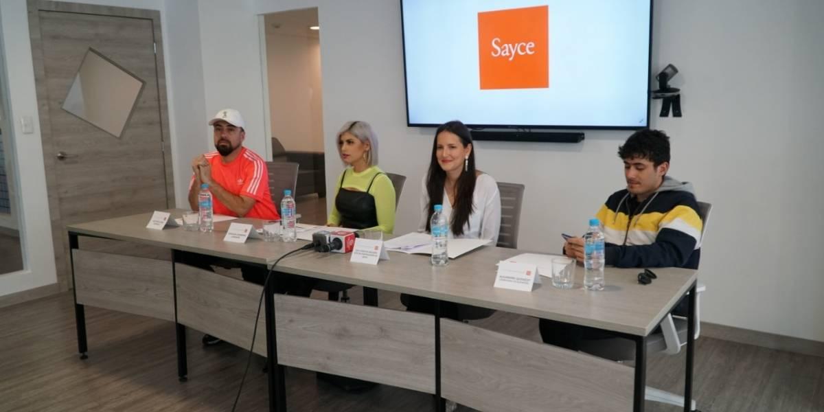 Sayce abre convocatoria para 'Programa Incentivos a la Música'