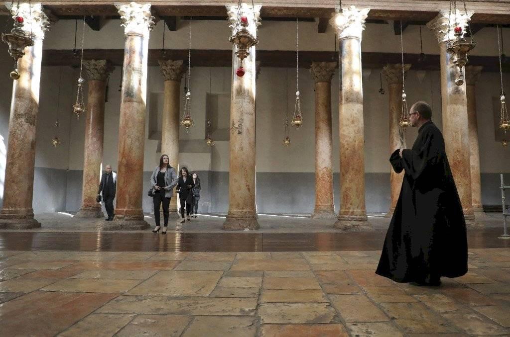 Basílica de la Natividad, en Belén