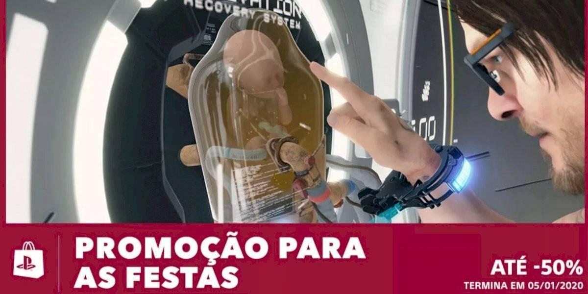 Promoção da PS Store tem até 50% de desconto em títulos selecionados