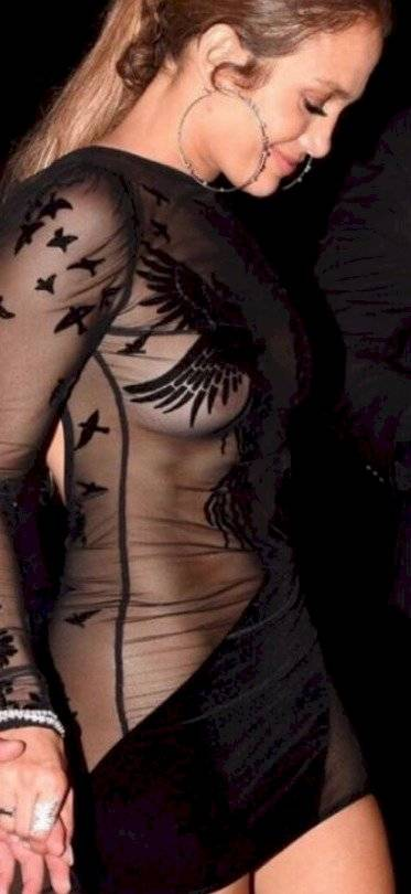 JLo vestido transparente