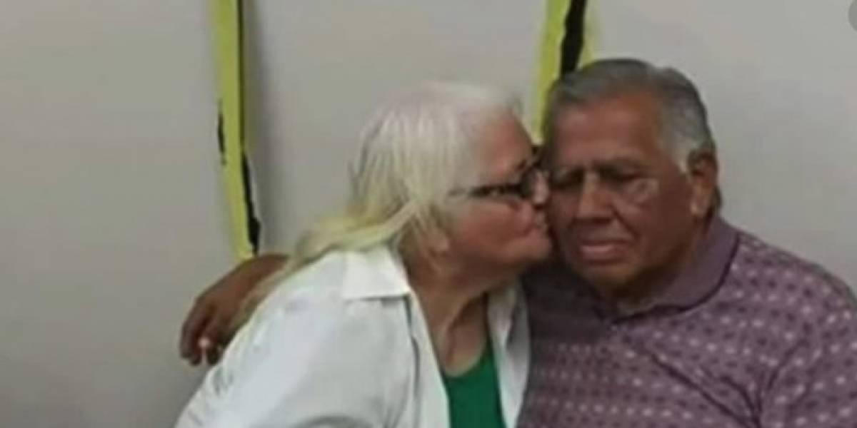 Pareja de ancianos muere en trágico accidente