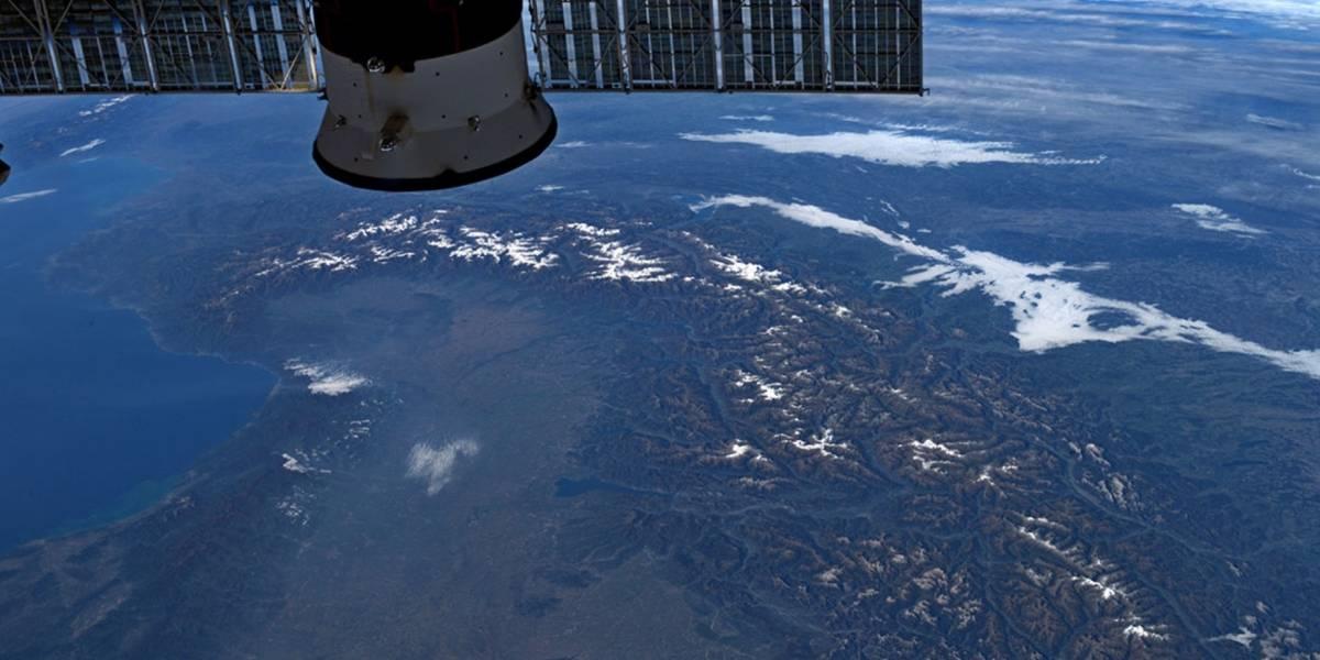 Astronauta registra impressionante imagem da Terra desde o espaço