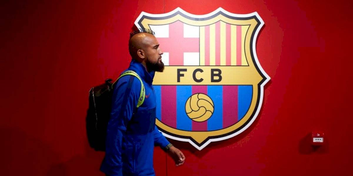 No fue admitida: El duro traspié que sufrió Arturo Vidal en su demanda contra Barcelona