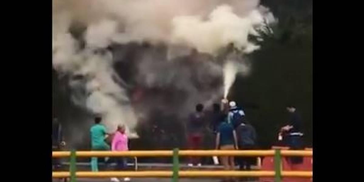 Adulto mayor murió en medio de grave incendio en el sur de Bogotá