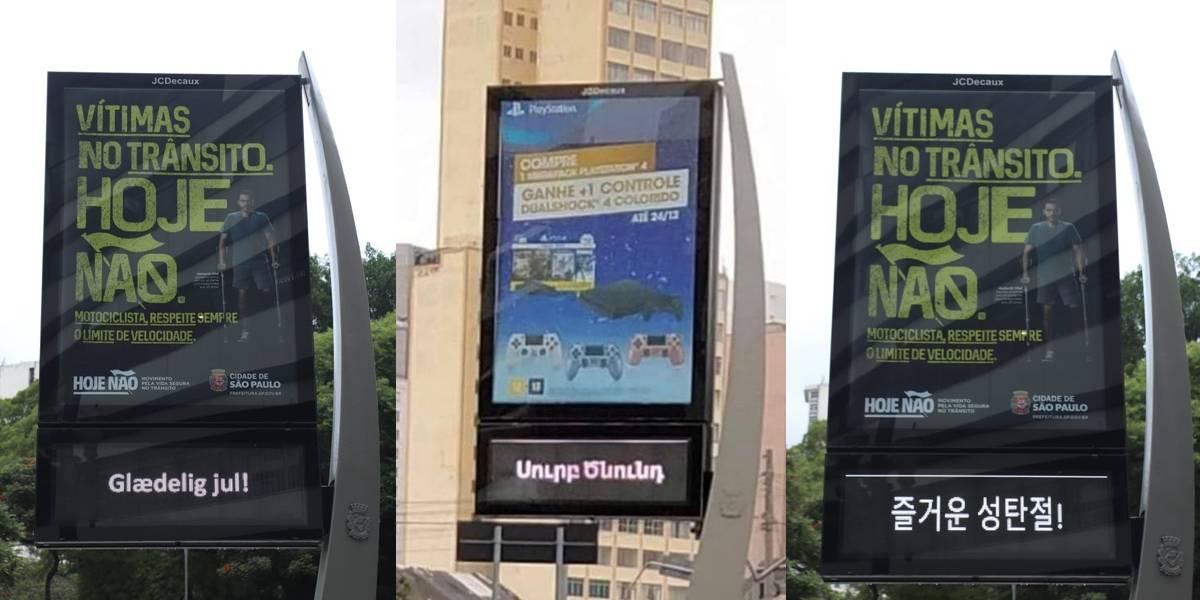 'Feliz Natal': Relógios de São Paulo trazem mensagem natalina em 30 idiomas
