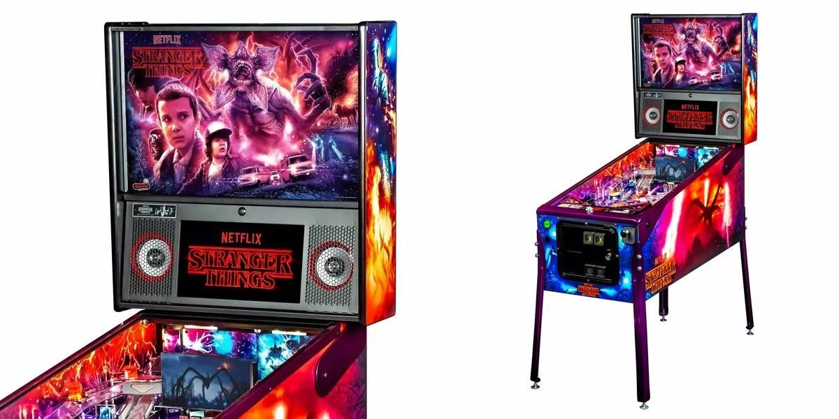 Lanzan máquina de pinball de Stranger Things