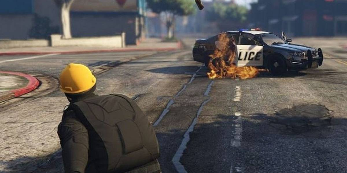 No es broma: Las protestas de Hong Kong llegan a Grand Theft Auto V