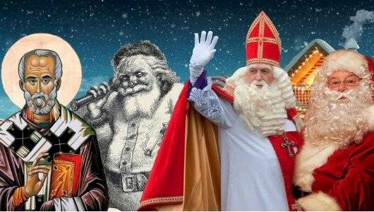 Transformación de Santa Claus