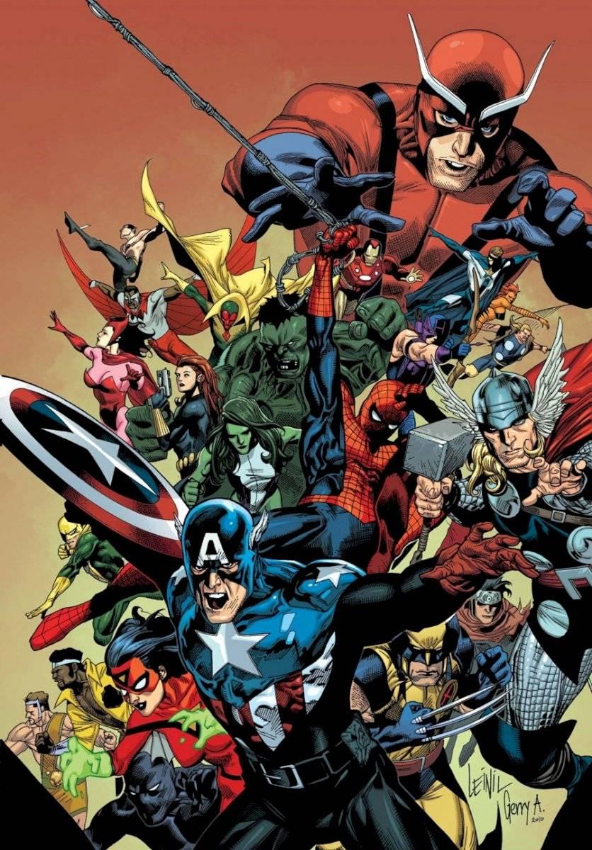 Marvel DC Ilustrador