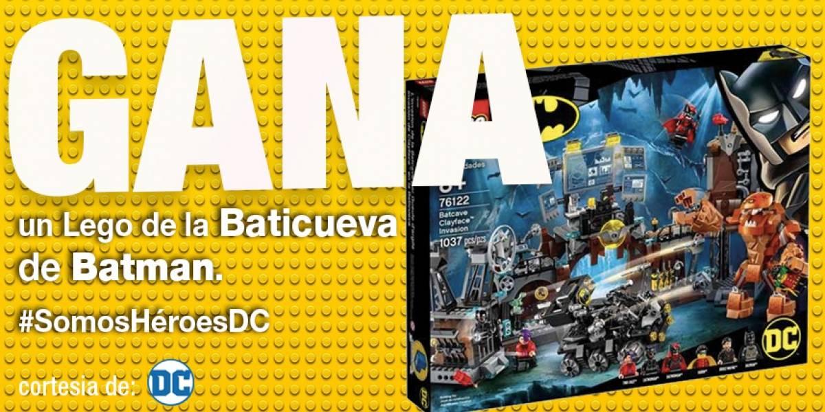 Gana una caja de Lego de la Baticueva
