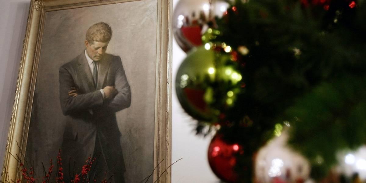 Exhiben carta de Kennedy a niña que temía por Santa Claus