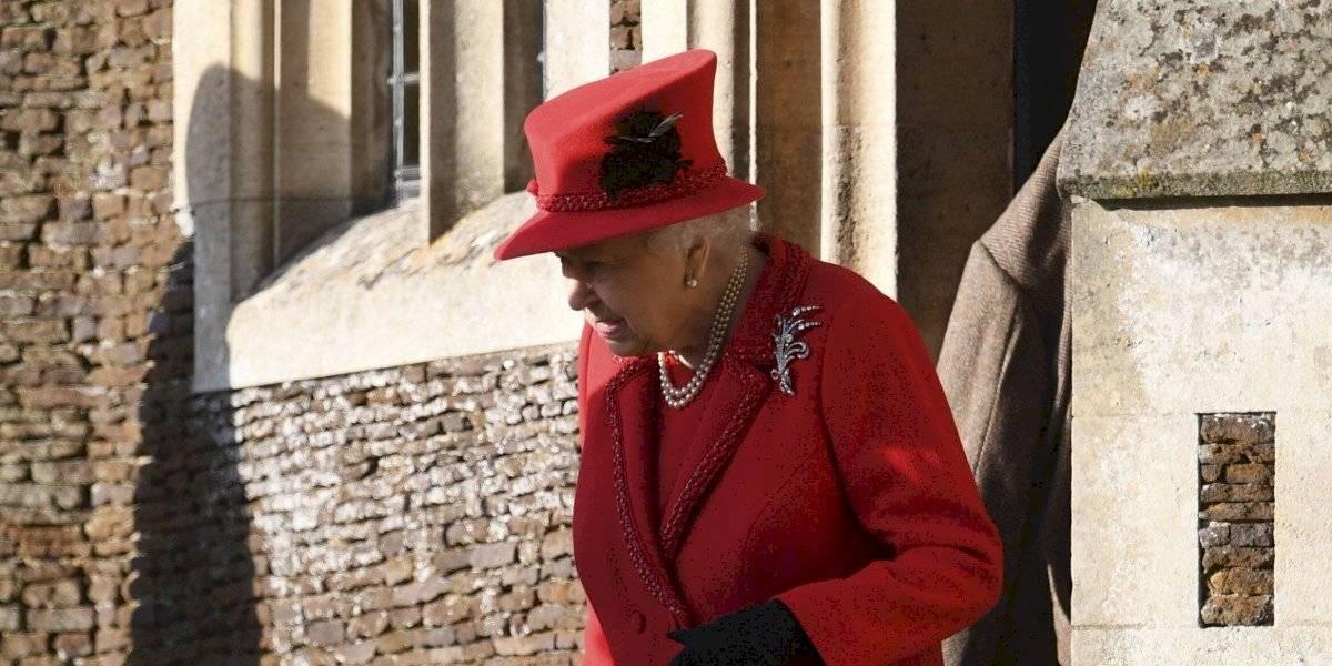 Reina Isabel y la familia real pasan la Navidad en su finca rural