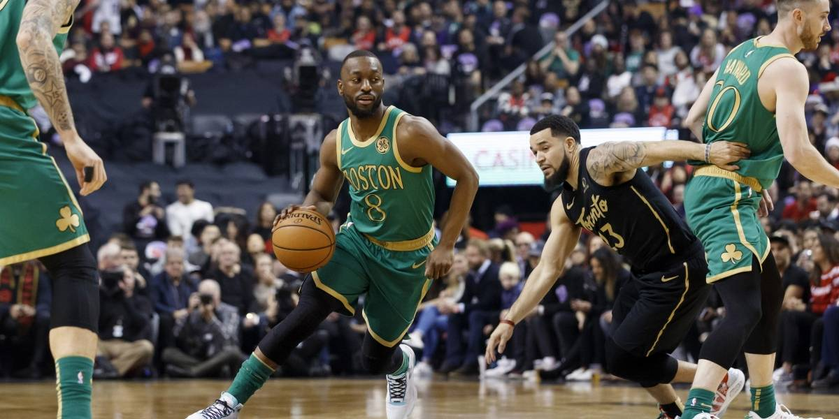 Con 30 puntos de Brown, Celtics superan a los Raptors