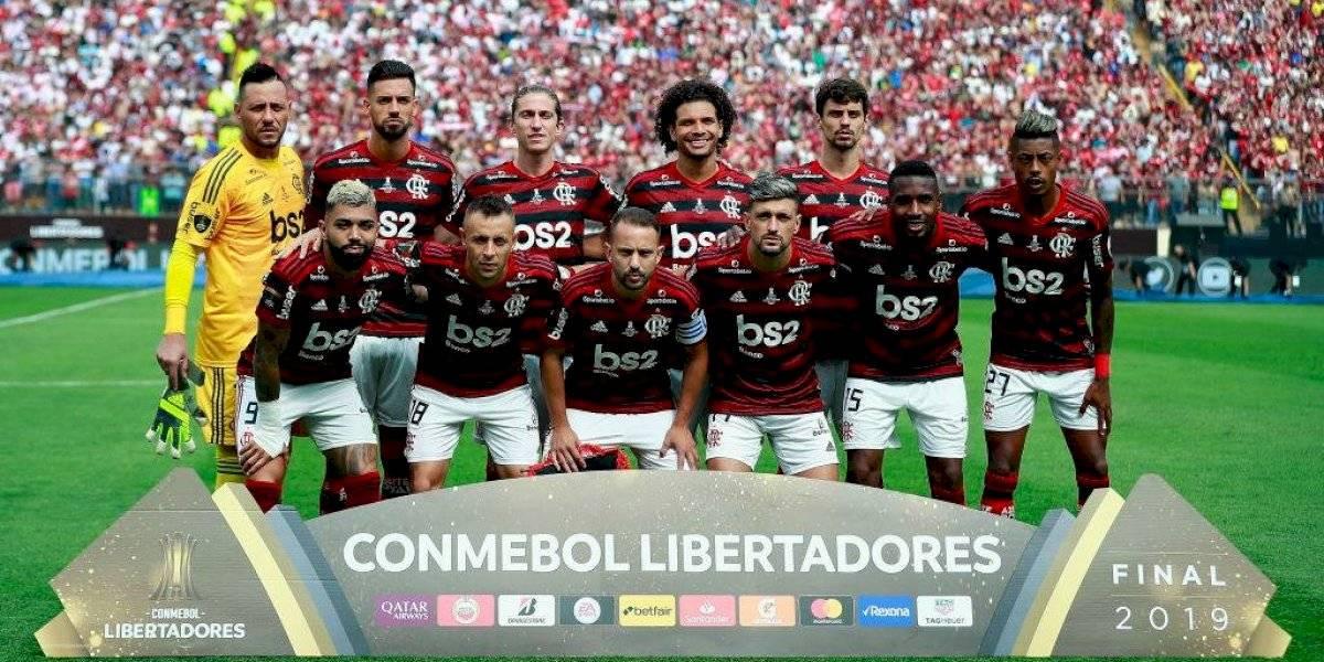 Increíble: Flamengo arrasa en las encuestas y todos sus jugadores componen el once ideal de la Conmebol