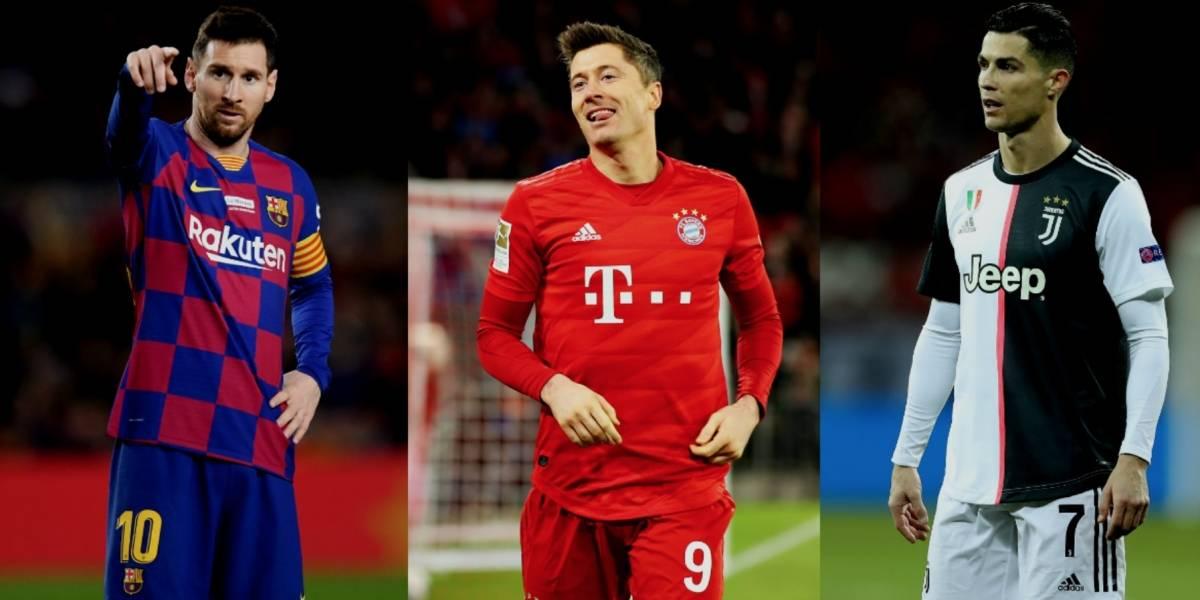 Robert Lewandowski, el máximo goleador de 2019; supera a Messi y CR7