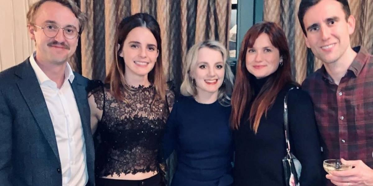 Se reencuentran por Navidad el elenco de Harry Potter