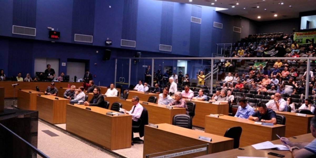 Câmara de São Bernardo revoga aumento de 26,5% nos salários dos vereadores