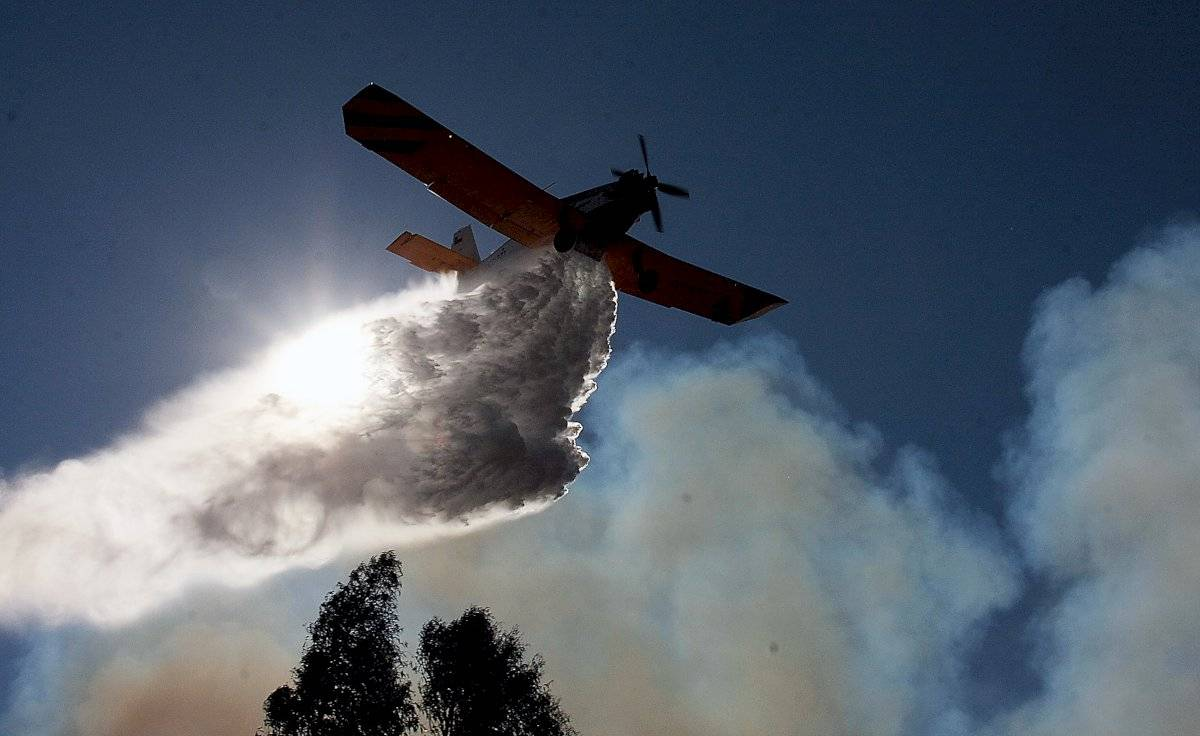 Aeronave incendio