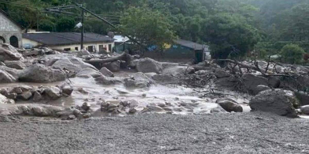 Siete desaparecidos por el desborde de un río en Colombia