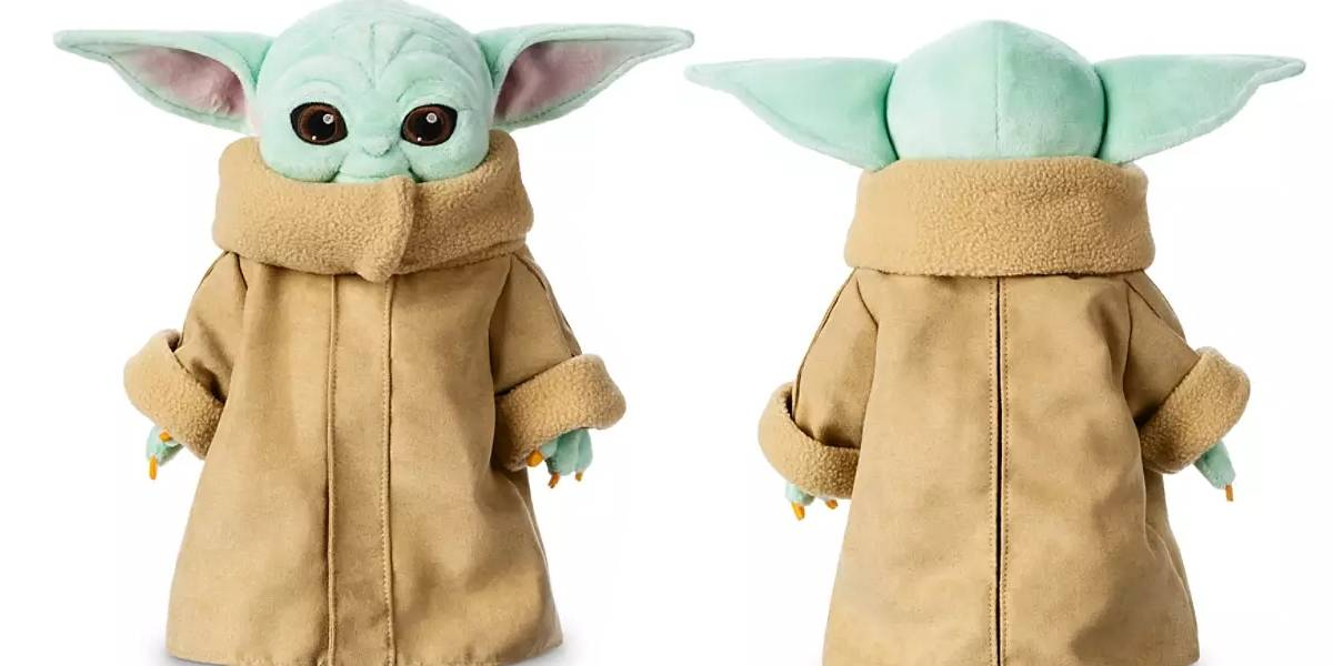 Toma mi dinero Disney: así luce el Baby Yoda de peluche