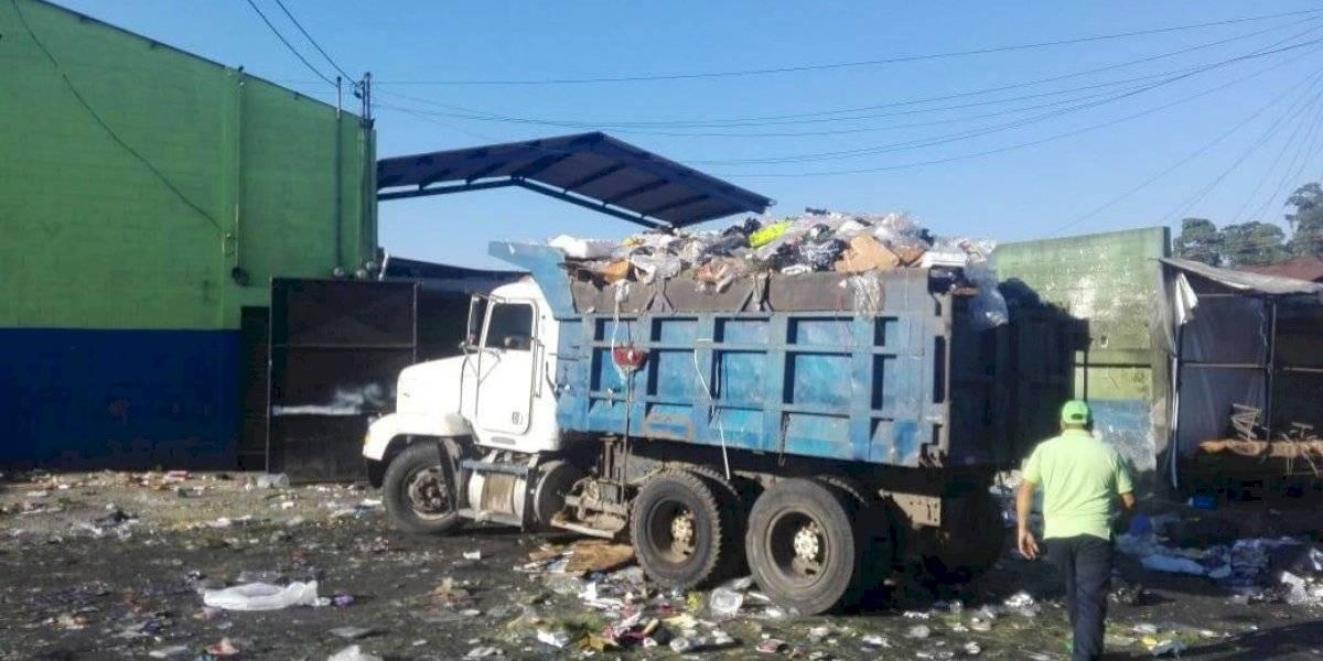 Municipalidad capitalina retira 190 toneladas de basura de las calles después de Navidad