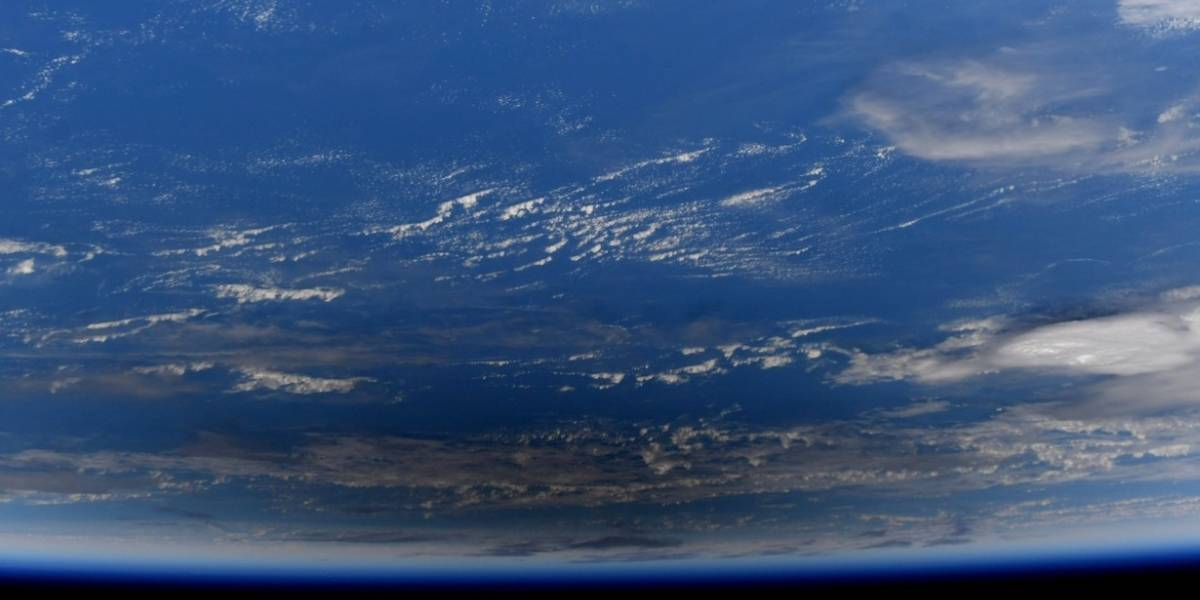 Astronauta da NASA capta parte do 'eclipse solar anular' desde o espaço