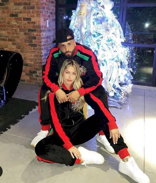 Nicky Jam y su novia