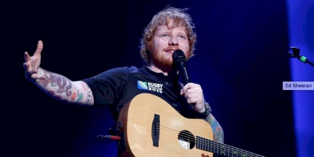 Ed Sheeran se convirtió en padre de una niña