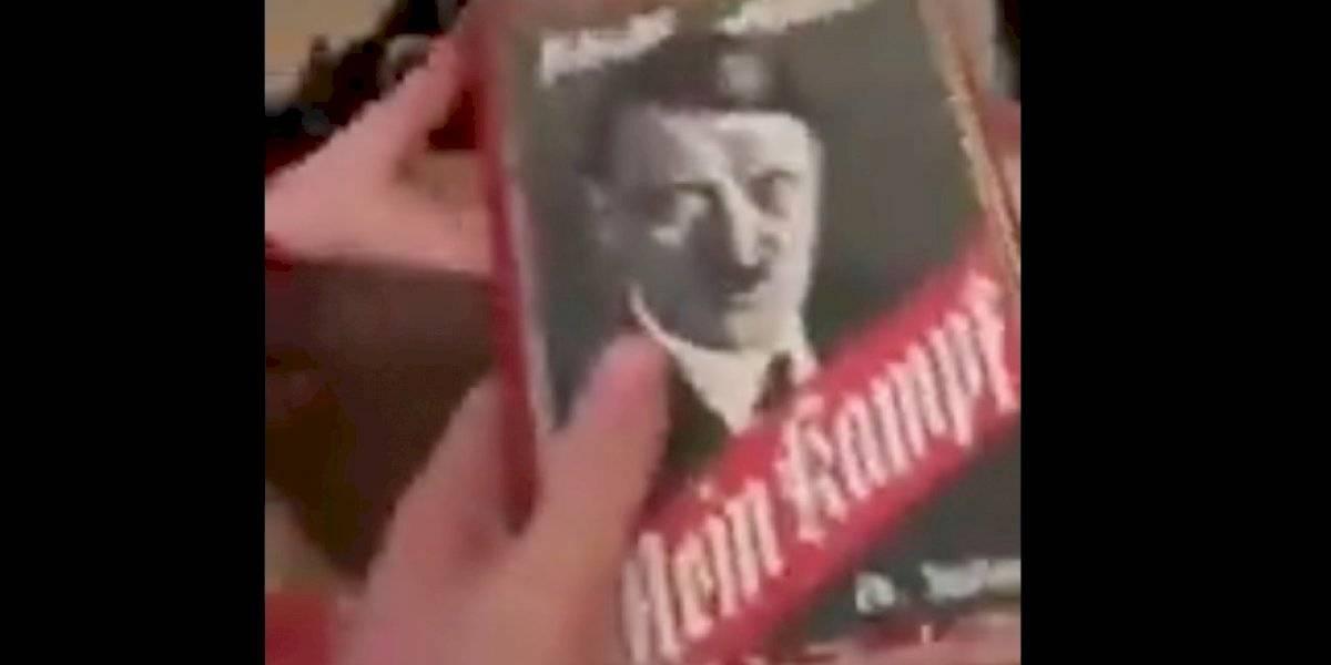 """Niño pide el """"Minecraft"""" como regalo de Navidad, pero su abuelito le escuchó mal: le dio el """"Mein Kampf"""" de Hitler"""