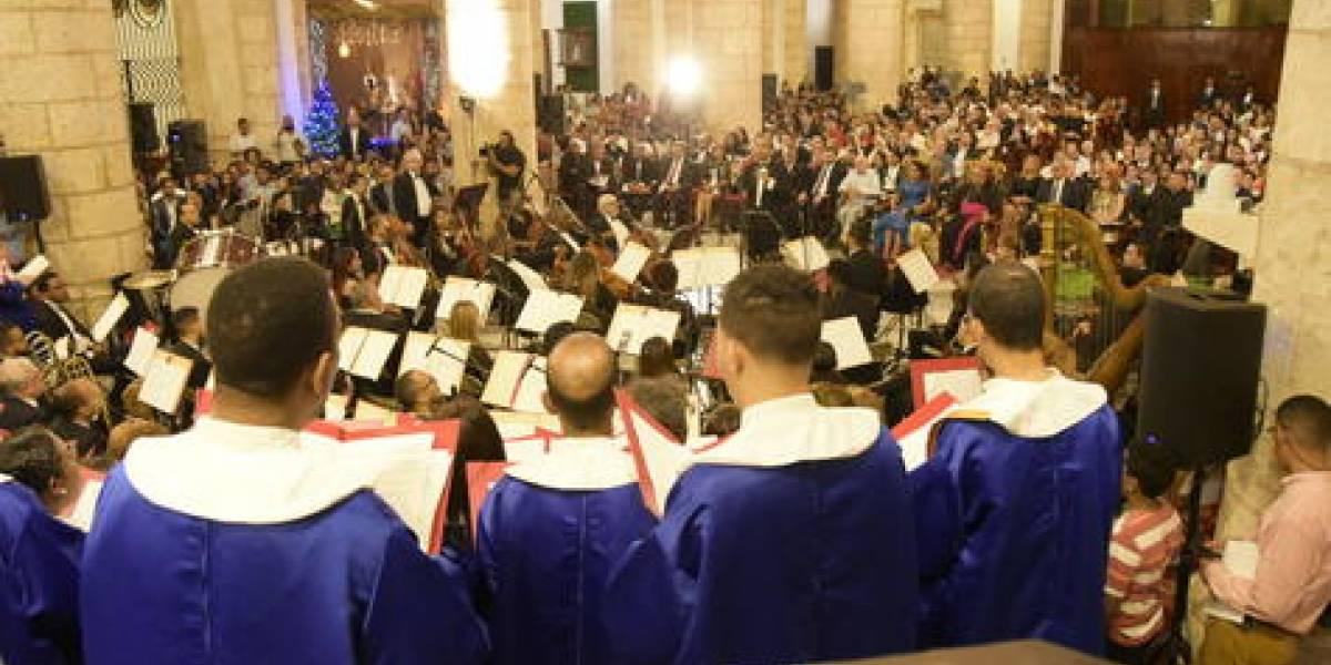 """Emotivo concierto de """"La Natividad del Señor"""" en la Catedral"""