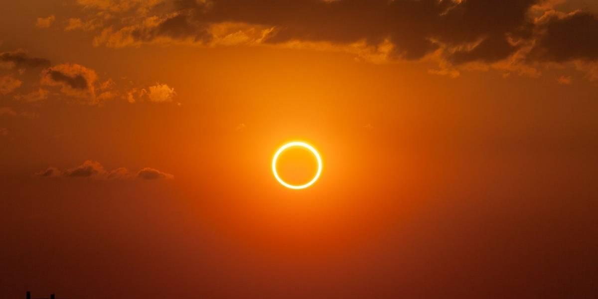 Eclipse: este fin de semana la Luna se interpondrá al Sol y generará un anillo de fuego
