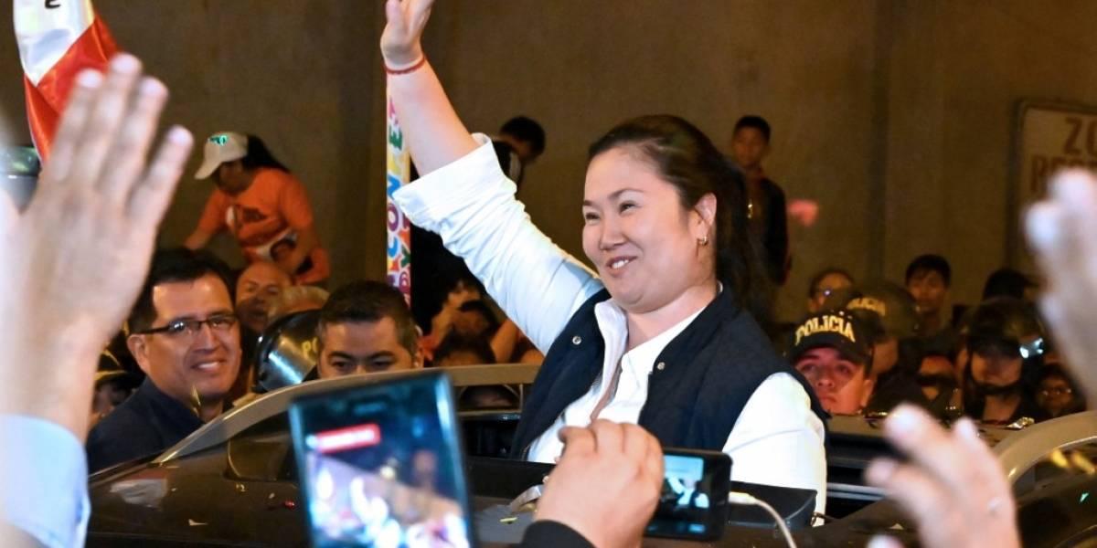 Keiko Fujimori afronta nuevo pedido de prisión por caso Odebrecht
