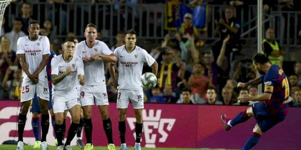 Messi reveló su secreto para ser eficiente en los tiros libres