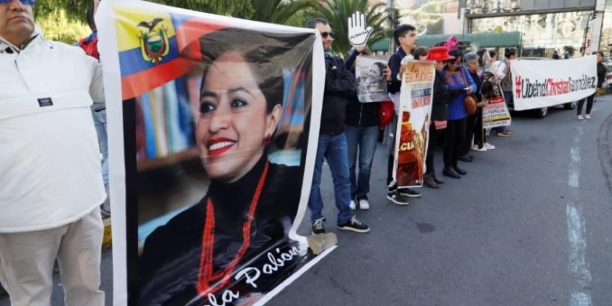 Paola Pabón regresa a la Prefectura de Pichincha tras salir de la cárcel