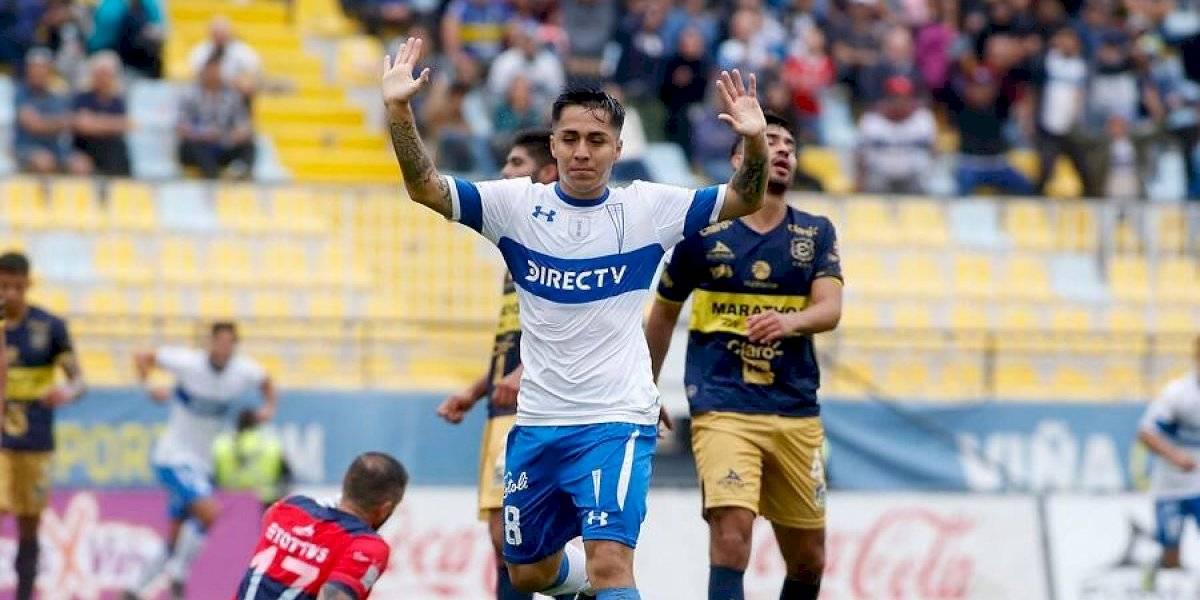 Jaime Carreño se marcha de la UC y probará suerte en el fútbol de Bolivia