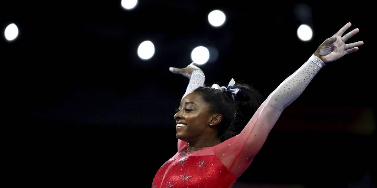 Gimnasta estadounidense seleccionada deportista femenina del año por segunda vez