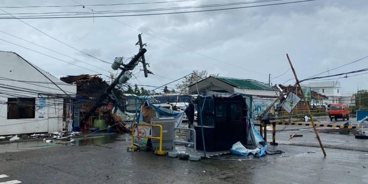 VIDEO. Devastador tifón Phanfone deja más de 15 muertos en Filipinas