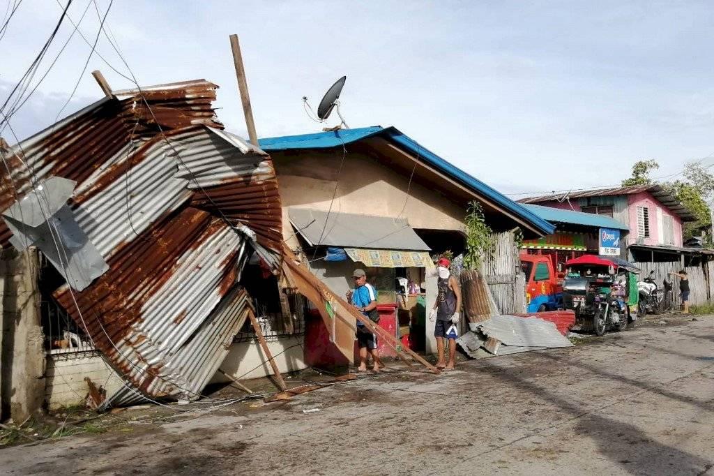 Tifón Phanfone en Filipinas