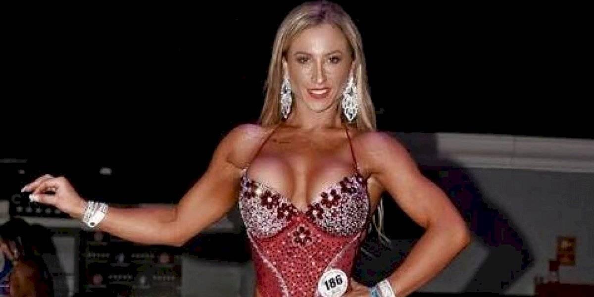 """""""Luli"""" anuncia que representará a Chile en importante competencia Fitness"""